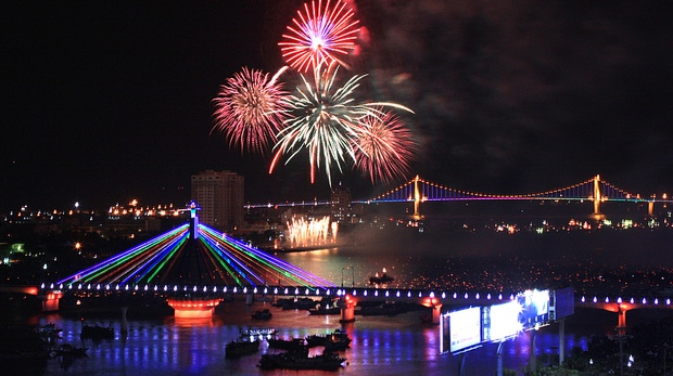 Danang Lunar Chinese New Year Fireworks