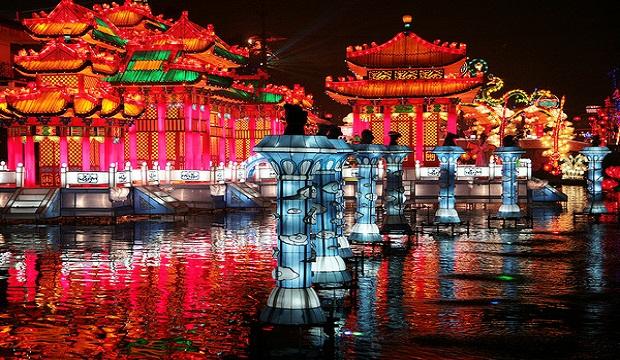 Hong Kong Lantern Displays
