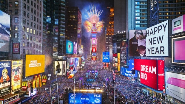 New Years Eve in America