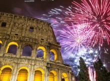 New Years Eve in Rome Italy