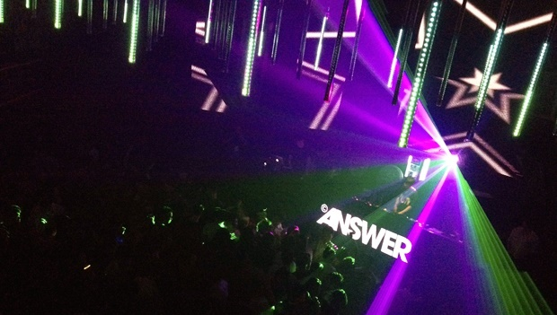 Club Answer in Seoul on NYE
